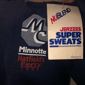 Dead stock nublend jerzees Super sweats 1994
